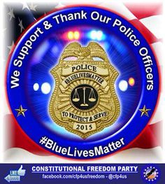 Every hour of every day across this country, people and communities are supported and lives are saved by these dedicated individuals. To judge them all based on the actions of a very few? Should we judge all based on the rioting, looting and drive by shootings that also occur almost daily?   GnG