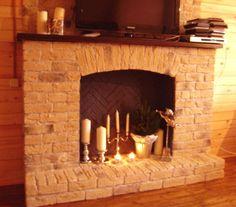 Фальш-камин своими руками - варианты дизайна, применение в интерьере, фото - Ремонт и строительство