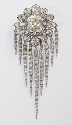 Queen Victoria's Fringe Brooch, 1856, R & S Garrard