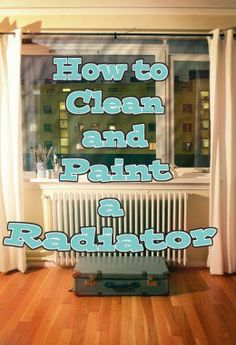 Cleaning and painting your radiator is a cheap way to freshen the look of your home and have a healthier living environment.