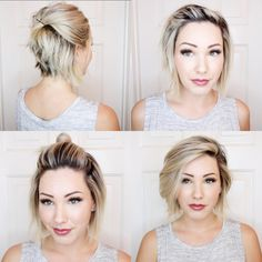 """542 Likes, 21 Comments - Chloé Brown (@chloenbrown) on Instagram: """"I have a new quick and easy tutorial up on my YouTube channel for y'all! I'm sorry about the hair…"""""""