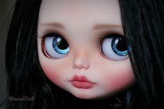Blue stardust eyes.   wip - new girl   Floriana   Flickr