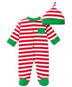 Striped Boys' Footie & Ha... - Henry and Lola | Scott's Marketplace