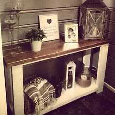 Ikea Rekarne Sofa Table refinished