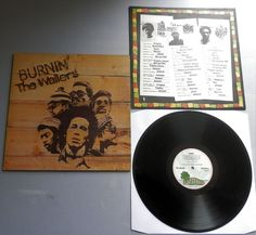 Bob Marley - The Wailers - Burnin' UK Island 1973 1st Press LP with Inner  | eBay