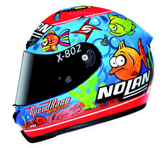 "Nolan helmet ""fish"""