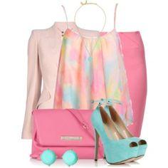 Pink Business Set