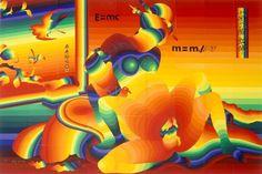 """Rainbow Hokusai, position 'A'"" by AY-O (1970)"