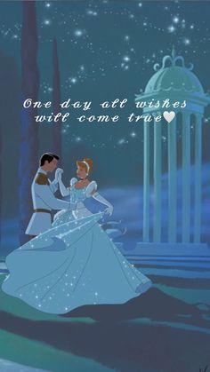 Dreams will come tru Disney Pixar, Film Disney, Cinderella Disney, Disney Cartoons, Disney Art, Disney Frozen, Cute Disney Quotes, Disney Princess Quotes, Disney Princess Pictures