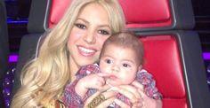 Shakira no pensó que tendría que cambiar tantos pañales