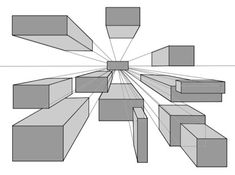 Boxes in 3 Dimensional space.