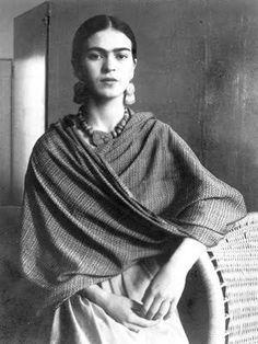 In 1928, Frida Kahlo met the artist, Diego Rivera.