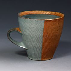 Bill Wilkey, Mug Soda fired, In Tandem Gallery www.InTandemGallery.com