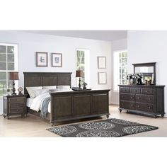 Shop For Abbyson Marseilles City Grey 5 Piece Bedroom Set. Get Free  Delivery At Overstock