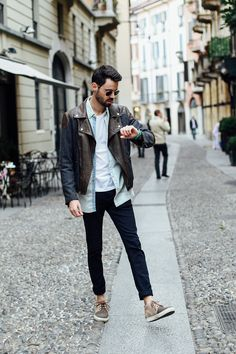Nacho A. - Milan Fashion Week Look