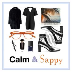 """""""Calm & sappy"""" by melike-karademir ❤ liked on Polyvore featuring Alexander McQueen, Boohoo, Stuart Weitzman, Samudra, NARS Cosmetics and Victoria's Secret"""