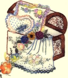 Brazilian Embroidery Free Patterns | JDR 6024 Hope Chest Brazilian Hand Stitched Embroidery Design