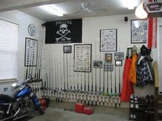 organizers fishing poles storage ideas - Bing Images bridal jewelry for the radiant bride Finding th Fishing Pole Storage, Fishing Rod Rack, Fly Fishing Rods, Fishing Tips, Fishing Tackle, Build A Wall, Rod And Reel, Kitchen Images, Pvc Pipe