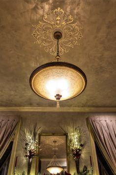 Elegant Venetian Plaster Dining Room: Veneshe Venetian Plastering