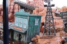 Big Thunder Mountain Railroad ~ Walt Disney World Florida...so fun!!