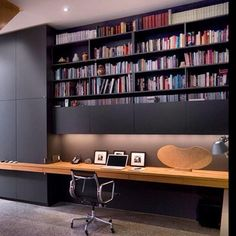 A contemporary home office is one with a modern, upbeat look. It has a pleasant environment in which to work and it suits many businesses. Checkout 25 best contemporary home office design.
