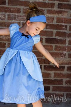Cinderella Dress Kids, Little Girl Dresses, Girls Dresses, Princess Dress Patterns, Princess Dresses, Everyday Princess, Slender Girl, Sewing Patterns For Kids, Pdf Patterns