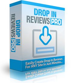 Drop In Reviews PRO Software Creates Drop In Product Reviews In Minutes Click Here For Live Demo  Here Are The Main Features… Creates Drop In Product Reviews In Minutes. Easy To Use, Simply Fill-In-The Blanks. Software Requires No Installation. Option To Change Background Colors. Works With Any HTML Coded Web Page. Requires Upload Access [...]