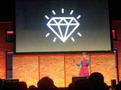 Jean-Marc Dupont @JeanMarcDupont7 @cordym rocking the #iste2016 final keynote... you go girl!  She is a true Canadian diamond! @isteconnects