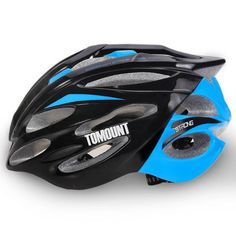Men Women Cycling Racing Road Helmet MTB Bicycle Bike Safety Equipment 56-63cm EPS Adjustable Yellow Blue Cycling Accessories - Safaryworld.com - 7