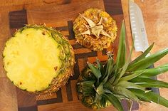 Mom's Kitchen Handbook: How to chooose, cut, and use a fresh pineapple