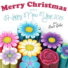 Ronit Golan - Polymer Clay Joy - Inspire to Create: Merry Christmas and a Happy New Year 2015 to you and yours