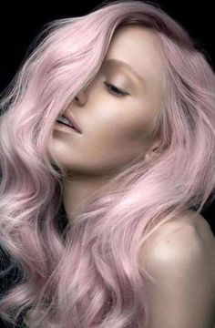 Ahh-mazing iridescent pink hair color and image by Toni Guy Australia. #HotOnBeauty #PinkHair