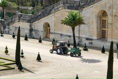 Quand les arbres quittent l'Orangerie du château de #Versailles pour l'été RT@CVersailles #Paris #tourisme