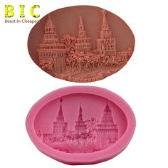 BIC Palace Castle Street Shaped 3D Silicone Fondant Cake Decorating Tools H1669 | eBay