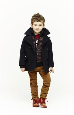 Love this coat and adorable sweater!