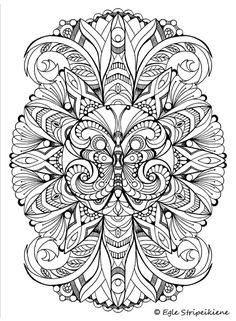 Coloring book for adults COLORS OF CALM by Egle Stripeikiene. Publisher…