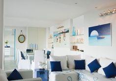 Living room e sala da pranzo