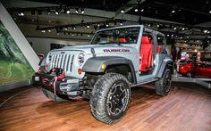 2012 LA Auto Show: 2013 Jeep Wrangler Rubicon 10th Anniversary Edition Stomps in