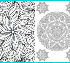Flower Art Therapy Designs