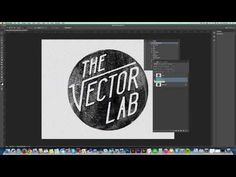 Delete the White Background of a Logo or Drawing in Photoshop - YouTube