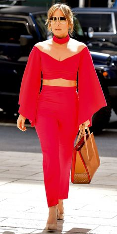 Jennifer Lopez's Most Envy-Inducing Street Style Looks - April 3, 2017 from InStyle.com