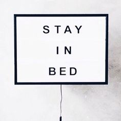 😂😴 You don't have to tell me twice to stay in bed on a Sunday morning 🌟✨ Enjoy your day peeps. Words Quotes, Wise Words, Sayings, Morning Mood, Sunday Morning, Lazy Sunday, Stay In Bed, Weekend Vibes, Beautiful Words