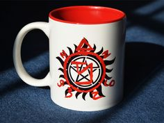 New Quality Ceramic Coffee Mug Cup Supernatural Five Star Pentacle Sam Dean Bobby Castiel 67 Impala —Loveful