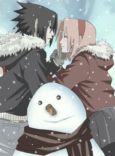 Sasuke and Sakura Family | and sasuke uchiha twins two of there 4 kids ekusas and arukas uchiha ...