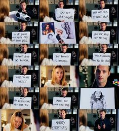 This scene from Love Actually (the whole movie makes me really happy, but if I had to pick my favorite scene, it's this one!)