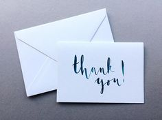 Thank You Cards - A6 Charity Greetings Card