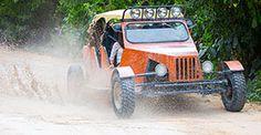 Costa Maya Excusion option 1: Dune Buggy Safari & Beach $109 pp, 3 hrs