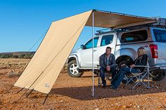 Toyota Tacoma ARB Awning Wind Break