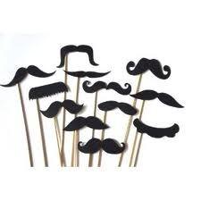 Znalezione obrazy dla zapytania mustache party invitations