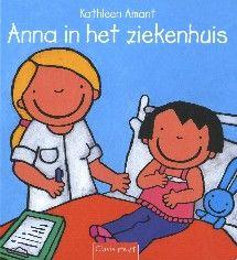 Anna gaat naar het ziekenhuis: ze moet aan haar oren worden geopereerd.
